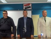 رئيس مدينة أبورديس ووكيل وزارة التضامن الاجتماعى أثناء الاحتفال