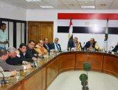 جانب من لقاء محافظ سوهاج وأعضاء البرلمان
