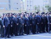 جانب من الجنازة العسكرية