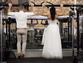 العروسان فى الجيم