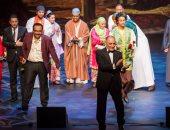 افتتاح أوبريت بردة البوصيرى بأوبرا مسقط