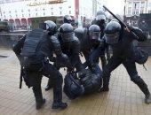 الشرطة الروسية تعتقل متظاهرين