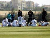 محمد حلمى ولاعبو الزمالك