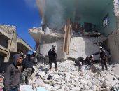 جانب من العنف فى سوريا _ صورة أرشيفية