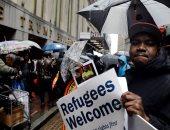 مظاهرات ضد قرار حظر السفر فى نيويورك بأمريكا