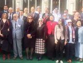 صورة جماعية للوفود المشاركة فى ملتقى الإعلام السياحى
