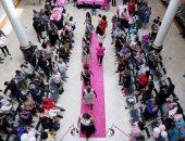 عرض أزياء للناجيات من سرطان الثدى