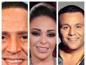 محمد فؤاد وداليا البحيرى وأشرف عبد الباقى