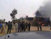 جانب من العنف فى ليبيا _ صورة أرشيفية