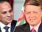 الرئيس السيسى والعاهل الأردنى