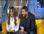 خالد سليم وزوجته