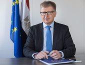 ايفان سوركوس سفير الاتحاد الأوروبى بمصر