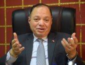 اللواء محمد سلطان رئيس مجلس إدارة الحدائق المتخصصة بالقاهرة