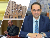 رئيس الوزراء ورئيس جهاز التنظيم والإدارة ورئيس قسم التشريع بمجلس الدولة