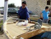 صناعة قوارب الصيد