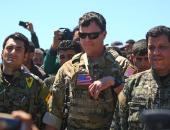 جنرال من قوات التحالف الدولي في سوريا
