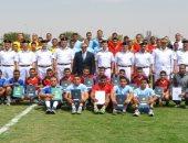 اللواء أحمد العمري يتوسط الفائزين
