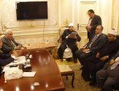 اللجنة الدينية بمجلس النواب مع وزير الأوقاف للتحضير للمؤتمر