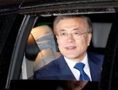 رئيس كوريا الجنوبيه  مون جيه-إن