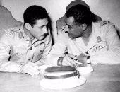 جمال عبد الناصر وعبد الحكيم عامر