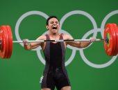 أحمد سعد لاعب المنتخب الوطنى لرفع الأثقال