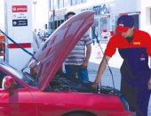 سيارات تعمل بالغاز الطبيعى - أرشيفية