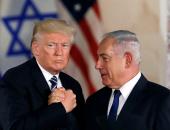 الرئيس الأمريكى دونالد ترامب ونظيره الإسرائيلة بنيامين نتنياهو