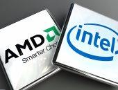 معالجات AMD و Intel