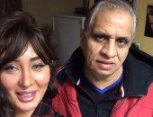 نور الكاديكى مع المنتج أحمد السبكى