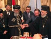 البابا تواضروس الثانى بابا  فى موسكو