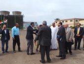 جولة لوفد لجنة الزراعة بالبرلمان لمصنع ابو قير للاسمدة بالاسكندرية