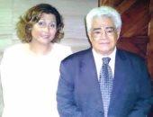 الكاتب والروائى الكبير محمد جبريل وزوجته