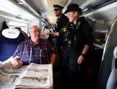 الشرطة البريطانية تؤمن قطار