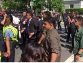 عناصر أردوغان المعتدين على المحتجين فى واشنطن