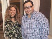 جيهان عبد الله وأحمد رزق