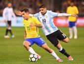 البرازيل ضد الارجنتين