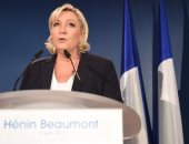 زعيمة اليمين المتطرف الفرنسى مارين لوبن