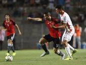جانب من مباراة مصر وتونس