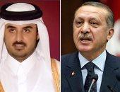 الرئيس التركى رجب طيب أردوغان وتميم