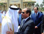 الرئيس عبد الفتاح السيسى والشيخ محمد بن زايد ال نهيان ولى عهد أبو ظبى