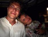 ليندلوف لاعب مانشستر يونايتد وصديقته ماجا نيلسون
