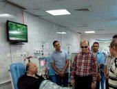 مميش يتفقد مستشفى نمرة 6