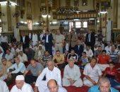 محافظ الدقهلية يؤدى صلاة الجمعة الاخيرة من شهر رمضان بمسجد النصر بالمنصورة