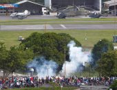التظاهرات فى فنزويلا