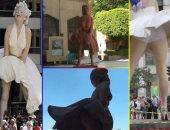 تمثال مارلين مونرو