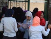 طالبات أمام لجنة امتحان - أرشيفية