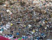 القمامة بالمنطقة