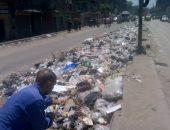 انتشار القمامة بشوارع شبر الخيمة