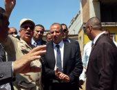 محافظ الاسكندرية يتفقد كبائن ستنالى قبل الافتتاح