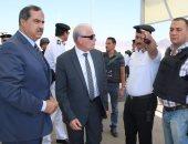 محافظ جنوب سيناء ومدير الأمن يتفقدان الأكمنة الأمنية بالمحافظة